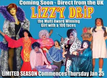 Lizzy Drip to Australia soon